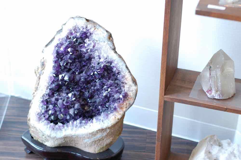 紫が美しい・アメジスト